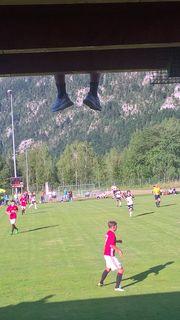 Ebensees Match gegen den ManU-U18-Nachwuchs.