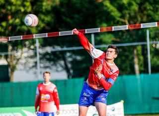 Die Chilenen begeisterten rund 150 Zuschauer bei den Matches gegen Laakirchen und Vöcklabruck
