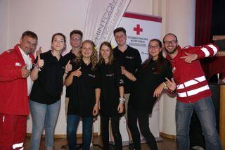 Jubel beim Roten Kreuz Lieboch: Die RK-Jugend holte sich beim Bundesbewerb den dritten Platz.