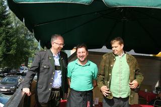 Matthias Jessner (Mitte), der Wirt in der Michaelistub'n