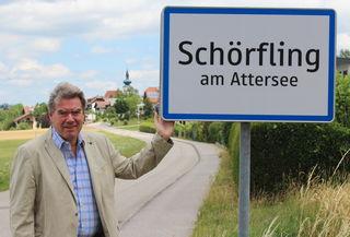 """""""Schörfling am Attersee ist eine wachsende Gemeinde"""", sagt Bürgermeister Gerhard Gründl. Aktuell sind es 3.440 Einwohner."""