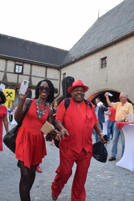 Stargast des heurigen Festivals ist Les Getrex. Er brachte die Creole Cooking Band aus New Orleans mit sich.