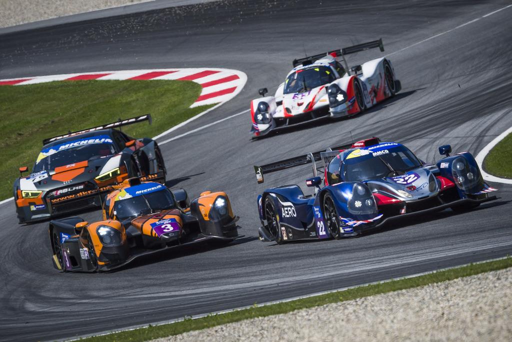 Spannende Rennen liefern sich an diesem Wochenende die Piloten bei der European Le Mans Series am Red Bull Ring in Spielberg.