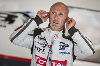 Fabien Barthez prepares to race during the European Le Mans Series 2017 in Spielberg, Austria on July 21, 2017