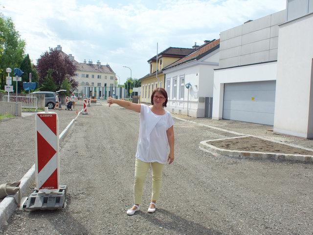 Andrea Kahofer (SPÖ) sympathisiert mit der Initiative und befürwortet das Einbinden der Bürger in die Gestaltung der Gasse.