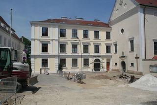 Die Zufahrt zum Klosterbergparkplatz und dem Kirchenplatz ist nicht möglich.