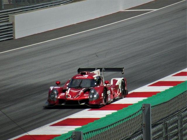 Team Ultimate mit einem Ligier JS P3 - Nissan in der LMP3, ist dieses Auto nicht ein Traum...
