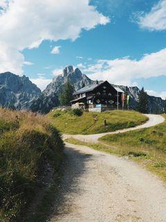 Die Mödlingerhütte - ein Postkartenmotiv