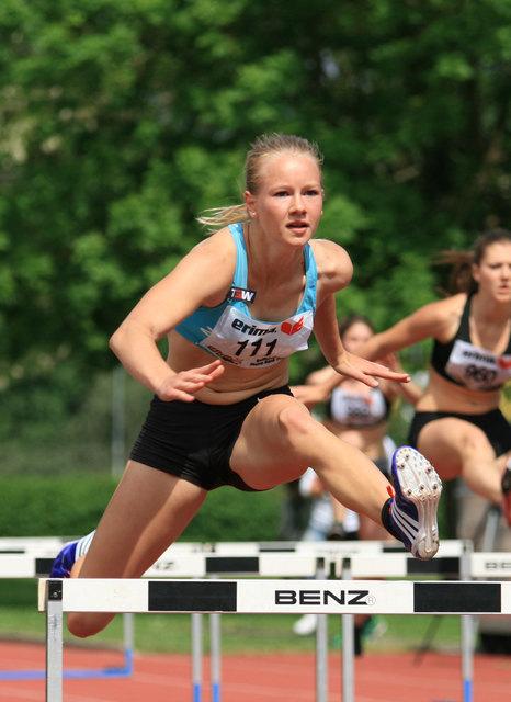 Sarah Lagger holte sich mit einem neuen österreichischen U20-Rekord die Bronzemedaille im Siebenkampf