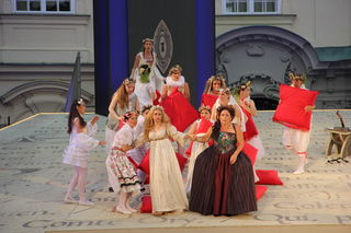 """Rossinis Meisterwerk """"Der Graf Ory"""" wurde für die kleinen Gäste adaptiert."""
