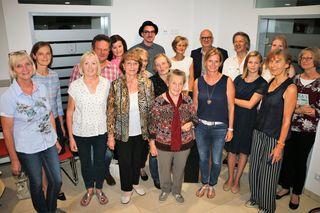 Erfolgreiche Buchpräsentation in Mölltal mit Autoren, Verlag, Organisatoren und Bevölkerung