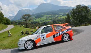 Vierte Ausgabe der Austrian Rallye Legends powered by ARBÖ von 14. bis 16. September 2017.