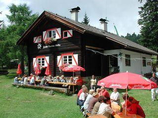 Die Hütte, wie sie heute aussieht