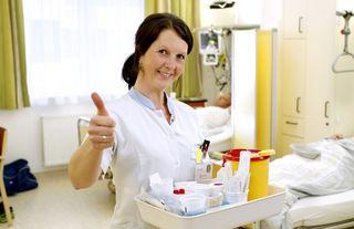 Mit einem ausgezeichneten Notendurchschnitt von 1,2 (nach Schulnotensystem) beurteilen die Patienten die Gesamtbetreuung im LKH Kirchdorf als ausgezeichnet.