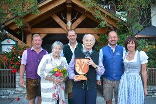 Bgm. Doppler, Frau Ungrad, Matthias Rauter, Helmut Ungrad, Martin Sagmeister, Ulrike Stoff. (v. li)