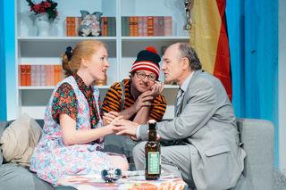 Sonja Kreibich (links) mit Ferdinand Kopeinig (mitte) und Walter Ludwig