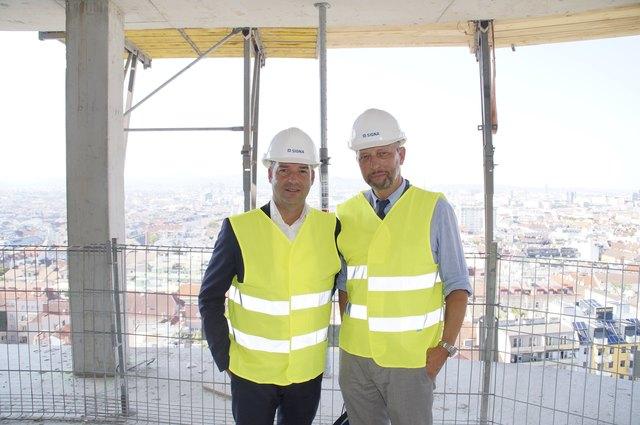 Bernhard Jost und Eberhard Eichler von Signa.