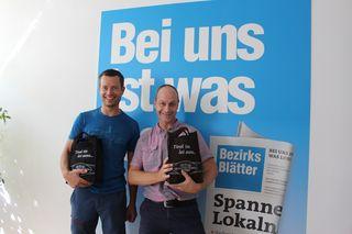 Matthias Margesin aus Völs (links) und Helmut Schwanninger aus Absam