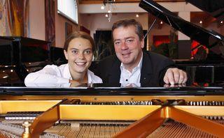 Boogie Woogie & Blues-Stars wie Sabine und Martin Pyrker geben sich am 8. September in Stockerau die Ehre.