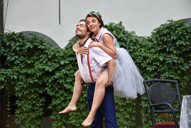 Opern-Premiere 'La Lisarde' von Giovanni Battista Mariani auf Schloss Greinbrug 2017