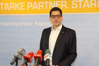 SPÖ-Landesgeschäftsführer Christian Dax zeigt sich über die FPÖ-Kritik an Doskozil verwundert.