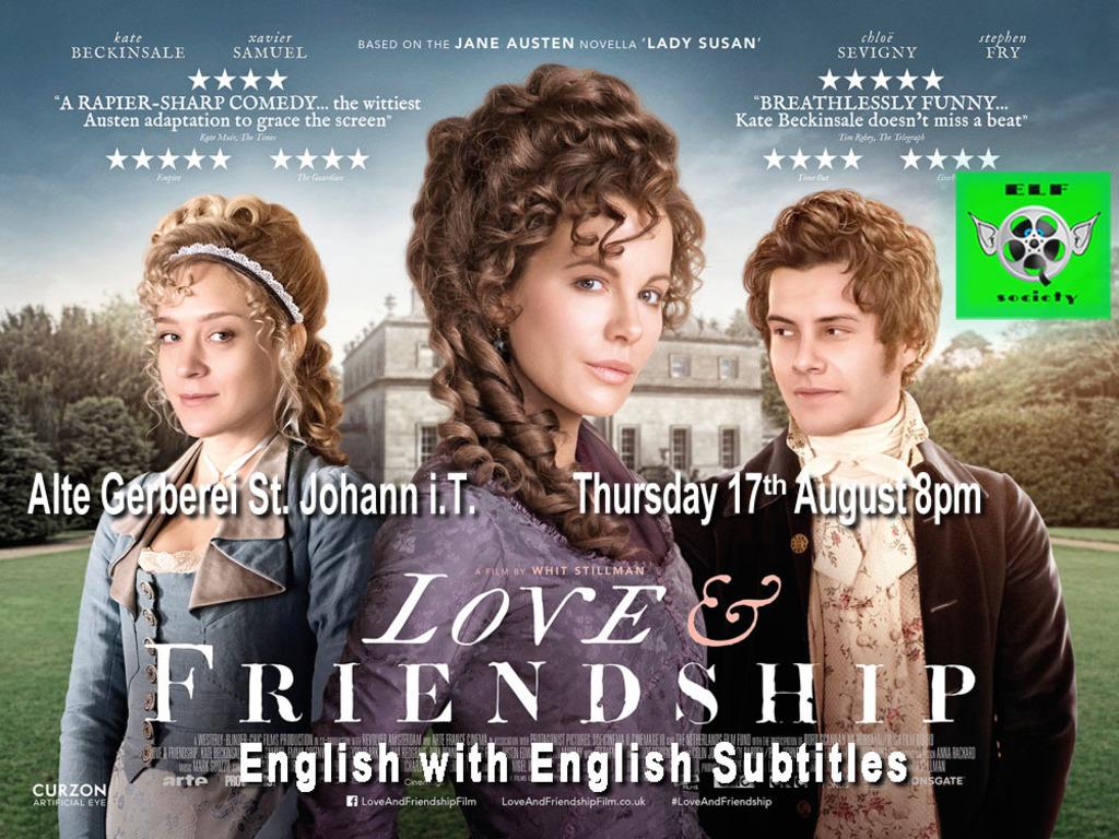 Film Love Friendship Auf Englisch Mit Englischen Untertiteln