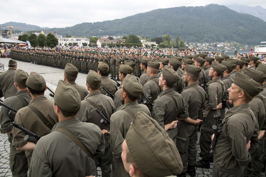 400 Soldaten Wurden In Gmunden Feierlich Angelobt Linz Land
