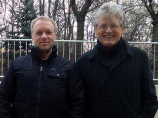 """Reinhard Nowak und Gerhard Blaboll bei """"Mit Künstlern auf du und du"""" https://www.facebook.com/pg/GerhardBlaboll/photos/?tab=album&album_id=230895743647632"""