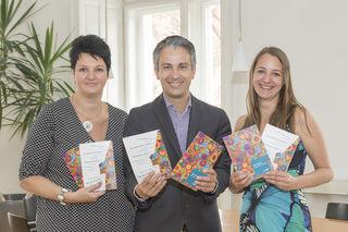Graz: Stadtrat Hohensinner mit dem Team des Integrationsreferates