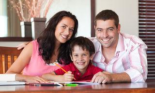 Gemeinsam: Eltern können Kindern helfen.