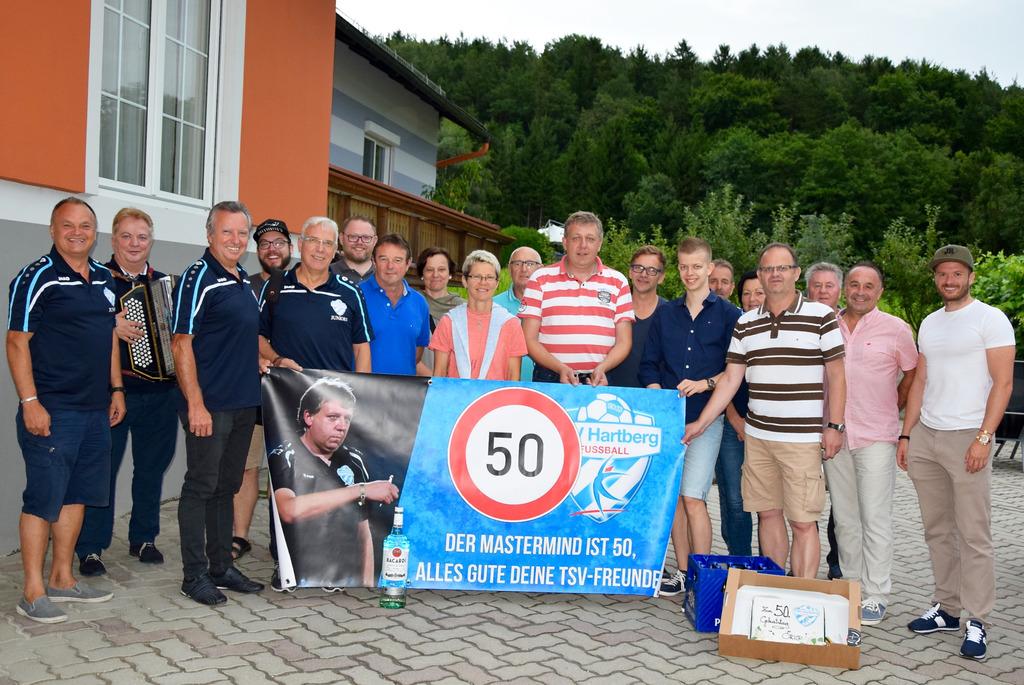 Tsv Fussball Chef Feierte Seinen Runden Geburtstag Hartberg Furstenfeld