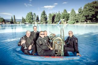 Mit Volldampt zum Fest. Die BKO-Musiker sind für den 2. und 3. September schon bereit.