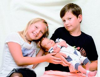 ZACHARIAS QUENTIN  - Eltern: Melanie Ressler und Manfred Riedl