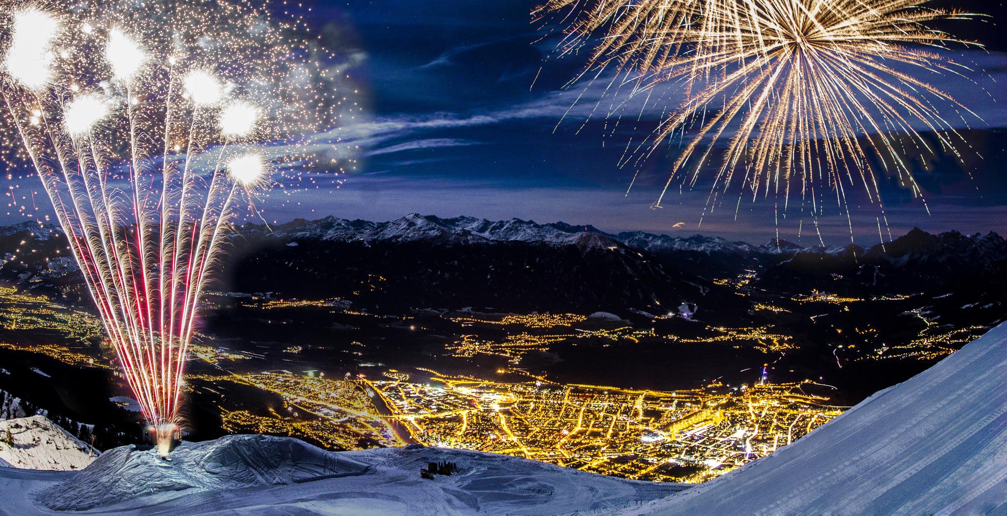 Laser statt Feuerwerk - Bergsilvester im Umbau - Innsbruck
