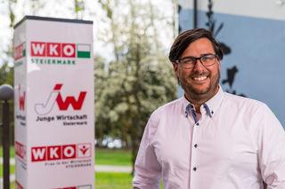 Hannes Buchhauser, Bezirksvorsitzender der Jungen Wirtschaft