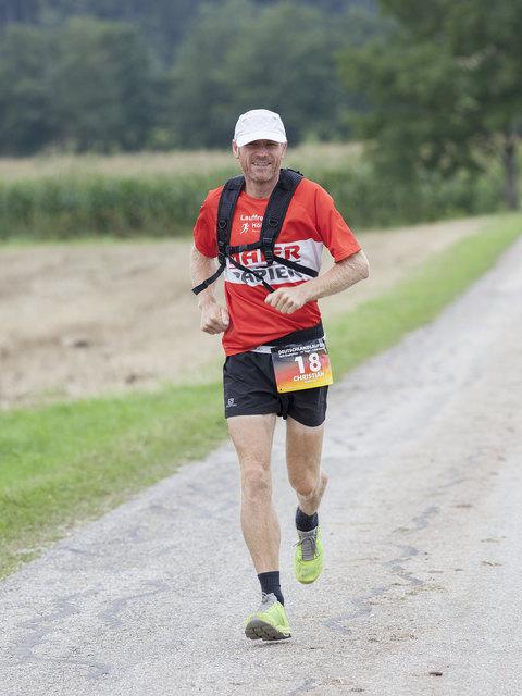 Christian Maierhofer ist Extremläufer.