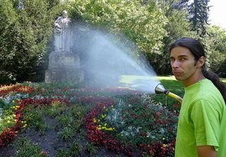 Mein Freund Stefan  von der MA 42 / Wiener Stadtgärten