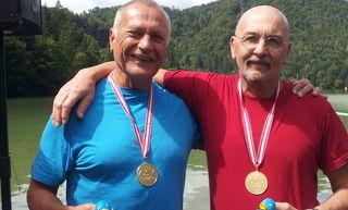 Wagenhofer und Swoboda am Hechtsee!