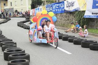 Auf die Plätze, fertig und los: Auch heuer können die Teilnehmer des Crazy Race wieder tolle Preise gewinnen.