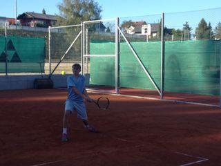 Tennis-Talent Josef Mayr (UTC Raab)