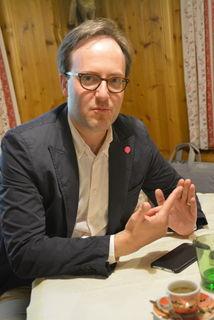 Dominik Oberhofer, Obmann der Tiroler NEOS, geht als Spitzenkandidat der Landesliste in die Nationalratswahl am 15. Oktober.
