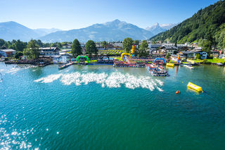 Ironman 70.3: 1,9 km Schwimmen, 90 km Radfahren, 21,1 km Laufen rund um Zell am See-Kaprun