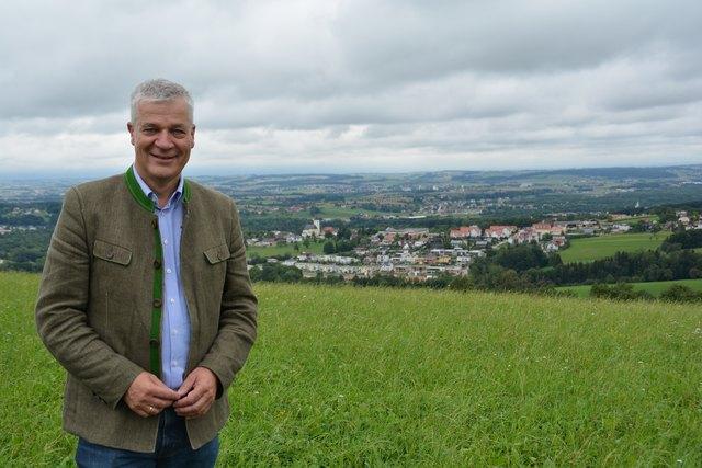 Landtagsabgeordneter und Bürgermeister Anton Kasser.