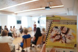 """""""Frauen gestalten mit 2017"""" ist ein Leadergefördertes Projekt von Kokon."""