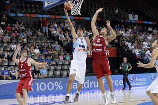 Der 2,20 Meter große Edin Bavcic spielt ab sofort für die BK Dukes.