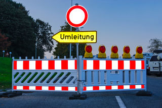 Symbolfoto: Aktuelle Baustelleninfos für Kritzendorf.
