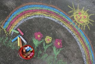 Ein Großteil der Hersteller von Kinder-Straßenmalkreiden gab an, die Produkte in China herzustellen.