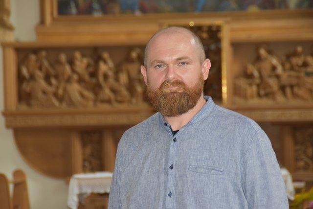 Bruder Miro hat vielfältige Aufgaben im Orden und in der Diözese zu bewältigen.
