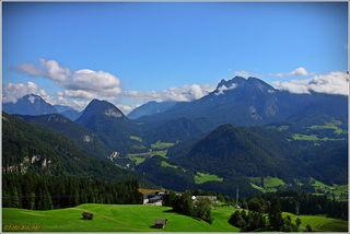 Bereits von der Mittelstation beim Gasthof Loderbichl hat man wunderbare Aussicht.