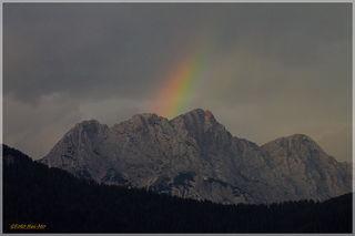 Mit diesem Regenbogen melden wir uns aus dem Urlaub zurück! ;-)